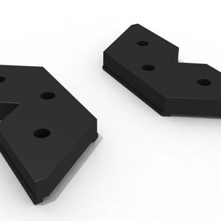 Base plástica clip carril 182