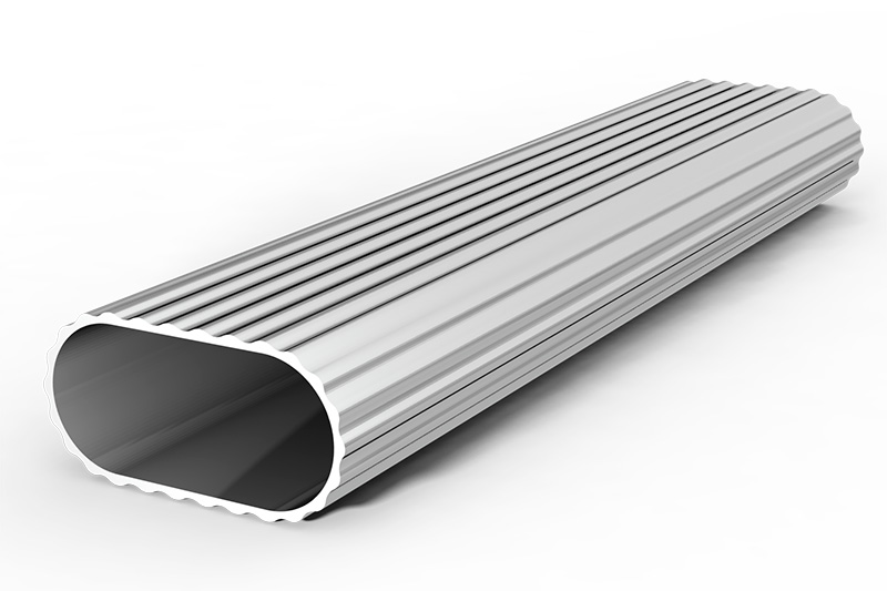 Perfil tubo oval